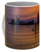 Evening On Lake Michigan At Grand Haven Coffee Mug