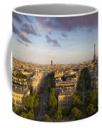 Evening Over Paris Coffee Mug