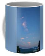 Evening Over The Valley Coffee Mug