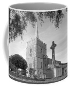 Evening Prayers In Black And White Coffee Mug