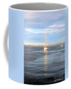 Evening Sail In Frenchman's Bay Coffee Mug