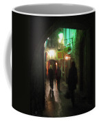 Evening Shoppers Coffee Mug