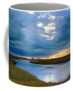 Evening Sky Over Hatches Harbor, Provincetown Coffee Mug