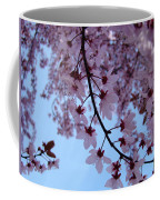 Evening Sky Pink Blossoms Art Prints Canvas Spring Baslee Troutman Coffee Mug