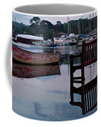 Evening Spring Tide In Mylor Bridge Coffee Mug