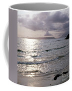 Evening The Isle Of Eigg  Inner Hebrides From The Beach At Arisaig Scotland Coffee Mug
