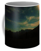 Evening Time In The Cascades Coffee Mug