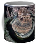 Evening Tones Horseshoe Bend Arizona Landscape  Coffee Mug