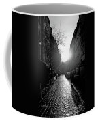 Evening Walk In Paris Bw Coffee Mug