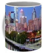 Evening Walk In Philly Coffee Mug