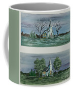 Evening Worship In Winter And Summer Coffee Mug