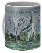 Evening Worship In Winter Coffee Mug