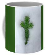 Evergreen Snow Cross Coffee Mug