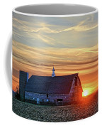 Evergreen Sunset Coffee Mug