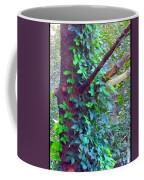 Evergreen Tree With Green Vine Coffee Mug