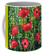 Every Dream Turns Up Poppies Coffee Mug