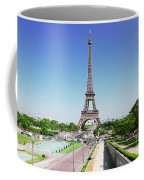 Eviffel Tower With Fountains Coffee Mug