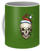 Evil Christmas Skull Coffee Mug