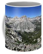 Evolution Lake And Valley Panorama From Darwin Bench - Sierra Coffee Mug