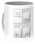 Excerpts From The Comey Memos Coffee Mug