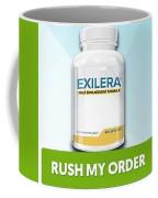 Exilera Male Enhancement Coffee Mug