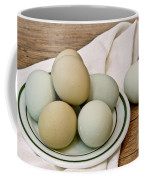 Exotic Colored Chicken Eggs Coffee Mug