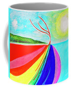 Expansive Flowing Colors In Nature Coffee Mug