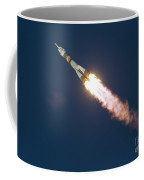 Expedition 46 Soyuz Launch To The Iss Coffee Mug