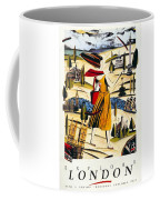 Explore London With A London Transport Explorer Pass - London Underground - Retro Travel Poster Coffee Mug