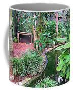 Expressionalism Beautiful Garden  Coffee Mug