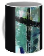 Expressionist Cross 8- Art By Linda Woods Coffee Mug
