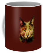 Eye Contact Coffee Mug by Anastasiya Malakhova