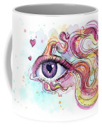 Eye Fish Surreal Betta Coffee Mug