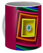 Eye In The Box Coffee Mug