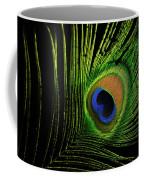 Eye Of A Peafowl Coffee Mug