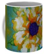 Eye Of The Flower Coffee Mug