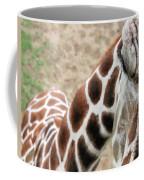 Eye Of The Giraffe. Coffee Mug