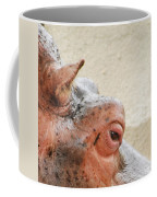 Eye Of The Hippo Coffee Mug