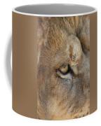 Eye Of The Lion #2 Coffee Mug