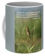 Eye On The Sparrow Coffee Mug