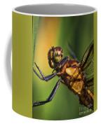 Eye To Eye Dragonfly Coffee Mug