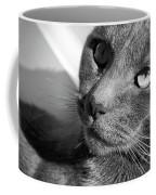 Eyes Of Russian Blue Coffee Mug