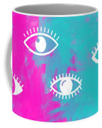 Eyes, The Look Coffee Mug