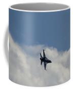F-16 Afterburn In Cloud Coffee Mug