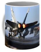 F 18 Hornet-aircraftcarriers Coffee Mug