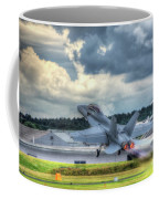 F-18 Hornet Takeoff Coffee Mug