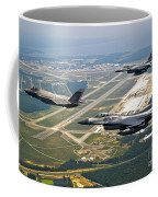 F-35 Lightning II Aircraft In Flight Coffee Mug