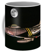 F-86 And The Moon Coffee Mug
