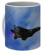 F15 Eagle In Afterburner Coffee Mug