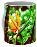 F21 Bird Of Paradise Flower Coffee Mug
